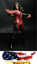 1/6 Scarlet Witch clothing set 2.0 Elizabeth Olsen kumik hot toys ❶USA IN STOCK❶