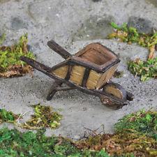 Miniature Fairy Garden WOODLAND WHEEL BARROW - Dollhouse (NEW)