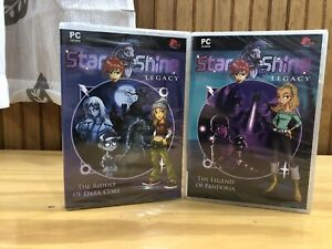 Lot 2 PC Game STARSHINE Legacy, The Legend Of Pandora, The Riddle Of Dark Core