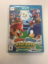 Mario & Sonic at the Rio 2016 Olympic Games (Nintendo Wii U, 2016) VGC RARE L@@K