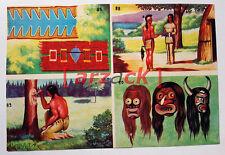 Album LONTANO WEST 1 DARDO 1962 - 4 figurine 87  88 89 90