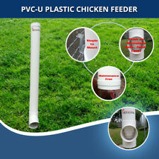Automatic Chook Feeder Hold's 5 Litre's of Feed - Buy more and refill less often