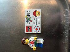 LEGO WORLD Copenhagen 2014 set with figure and puzzl