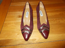 Suede Heels 1980s Vintage Shoes for Women