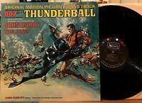 007 Thunderball Soundtrack Vinyl LP United Artists 4132 John Barry Tom Jones VG+