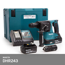 Makita DHR243RTE Hammer Drill SDS 18V 2x5.0Ah BL Motor Handle Charger Chuck UPS
