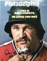 Philadelphia Flyers Dave The Hammer Schultz Philadelphia Magazine Cover