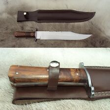 Official Windlass, Sheffield Bowie Knife with Hand Forged High Carbon Blade