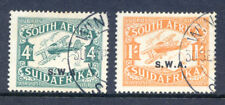 South West Africa 1930 Air Mail used pair (Ref:2018/05/23#09)