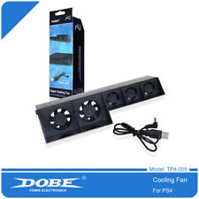Dobe PS4 External Cooling Fan for Sony PS4 Game Console (Not for Slim or Pro)
