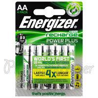 4 x Energizer AA Power Plus 2000 mAh Rechargeable batteries 1.2V NiMh Accu HR6