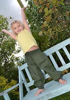 Childrens genie HAREM TROUSERS HIPPY BOHO ALADIN ALIBABA Baggy Pants YOGA Cotton