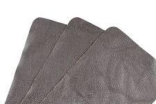 """Walnut Gray Scrap Leather Craft Piece 7.5"""" x 4.5"""" TD137"""