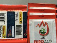 Panini Euro 2008 - Pochette red rouge !!!!!RARE!!!! code bare au recto