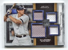 2020 Topps Museum Quad Jersey DJ LeMahieu #/99 New York Yankees