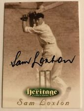 Autographed Cricket Trading Cards 1995 Season