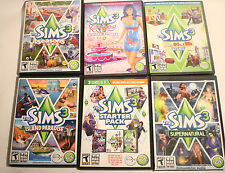 The Sims 3 Starter Pack 7 Expansions Katy Perry Supernatural Seasons FREE SHIP