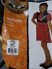 Rubies costume Lady Bug Child Size Small 4-6