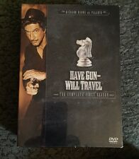 Have Gun Will Travel - The Complete First Season DVD 2004, 6-Disc Set New Sealed