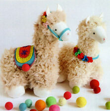 TASSEL & POM - Sewing Craft PATTERN -  Doll Llama Sewing Pattern