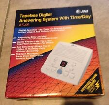 AT&T AS45 Tapeless Digital Answering Machine with Time Day BRAND NEW in box