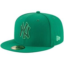 Men's New York Yankees New Era Green 59FIFTY League Pop Fitted Hat 7 5/8