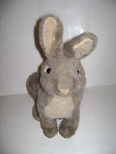 "Folktails Folkmanis Furry Folk Hand Puppet Cottontail Rabbit Plush Stuffed 15"""