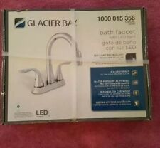 New Glacier Bay Chrome LED Light Faucet # 1000 015 356 New in Factory Box