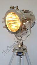 Movie Spotlight Floor Lamp Sealight Theater Lamps White Tripod Home Decor Light