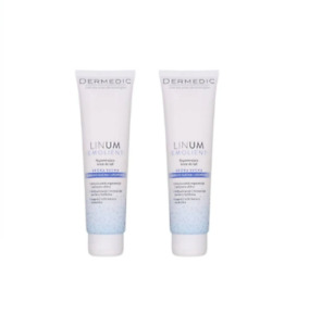 Dermedic Linum Emolient Hand cream dry skin vitamin E 2x 100g