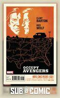 OCCUPY AVENGERS #1 CHO VARIANT (MARVEL 2016 1st Print) COMIC