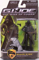 GI Joe Rise Of Cobra. Snake Eyes Paris Pursuit. Hasbro 2008 unopened.
