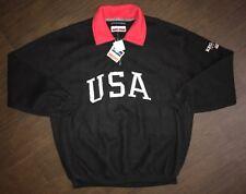 New Vintage Men's Regatta Sport Quarter Zip Sweater Size XL Polo USA Style