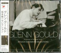GLENN GOULD-GLENN GOULD RYUICHI SAKAMOTO SELECTION-JAPAN 2 CD+BOOK G09