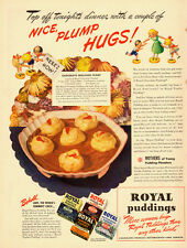 1941 vintage ad for ROYAL PUDDINGS, Chocolate Molasses Float -081613