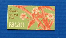 Palau (#131a) 1987 Indigenous Flowers MNH booklet
