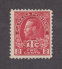 Canada Sc MR3 MLH. 1916 2c + 1c KGV, Die I, F-VF