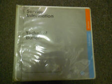 1994 1998 VW Service Information Technical Bulletins Service Shop Manual FACTORY