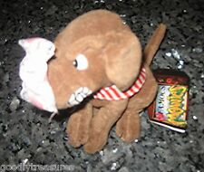 Meanie Beanie Babies Infamous Series BUDDY THE DOG Bill Clinton