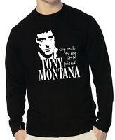 Tony Montana Scarface Mafia - Longsleeve, Gr. S bis XXL