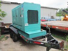Onan 125kw Trailer Mounted Generator