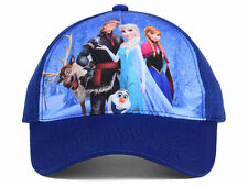 Disney Frozen new Youth Group Shot Adjustable Fit Hat Cap Fits Youth Sizes 4-9