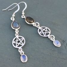 Hook Natural Moonstone Fine Earrings