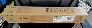 Genuine Brand New Cyan Ricoh toner MP C3503 C3003 841820