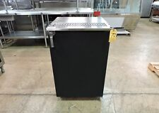 "Glastender Kc24-Nc-Bs1(R) Commercial 24"" Keg Cooler One Door Self-Contained"