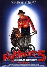 Nightmare on Elm Street 5 - Das Trauma ORIGINAL A1 Kinoplakat Robert Englund
