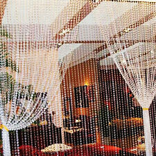 String Diamond Curtain Crystal Beads Door Window Panel Room Divider Decor