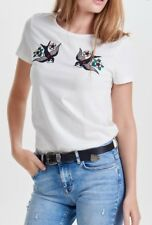 """""""Only"""" ladies t shirt with swallows on SIZE S"""