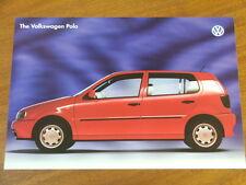 1996 Volkswagen Polo original Australian single page brochure
