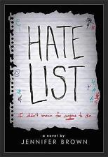 Hate List by Jennifer Brown (Paperback, 2017)